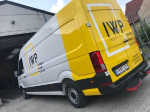 Belettering Volkswagen Crafter IWP Projects